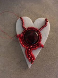 Beaded heart pt. 2